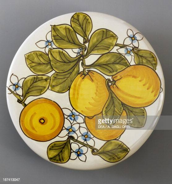 Trivet with lemon decorations Pictures Getty Images