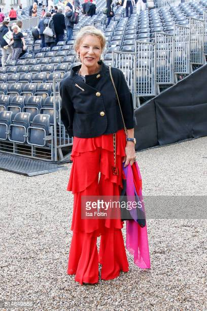 Trixie Melles attends the Thurn Taxis Castle Festival 2017 'Aida' Opera Premiere on July 14 2017 in Regensburg Germany