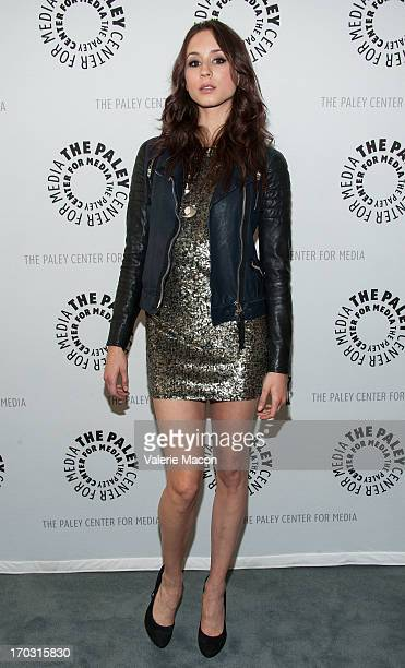 Troian Bellisario attends The Paley Center For Media Presents An Evening With 'Pretty Little Liars' at The Paley Center for Media on June 10 2013 in...