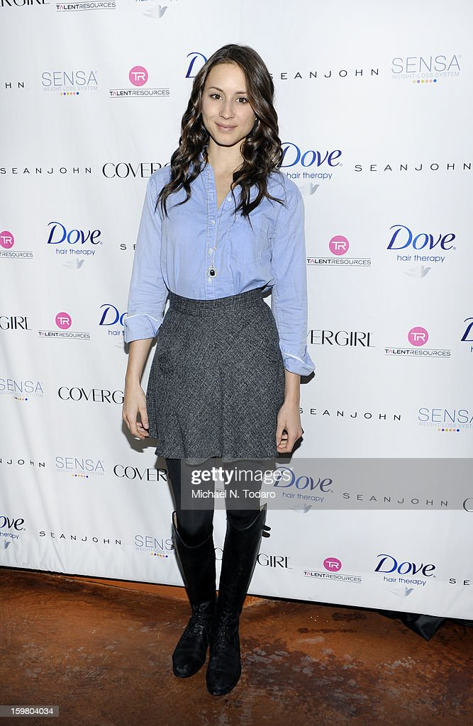 Troian Bellisario attends the TR Suites Daytime Lounge - Day 3 on January 20, 2013 in Park City, Utah.