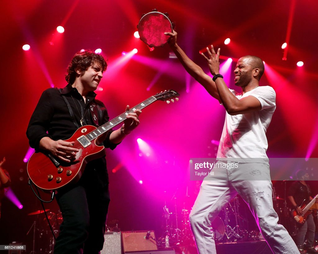 Trombone Shorty & Orleans Avenue perform at Terminal 5 on October 13, 2017 in New York City.