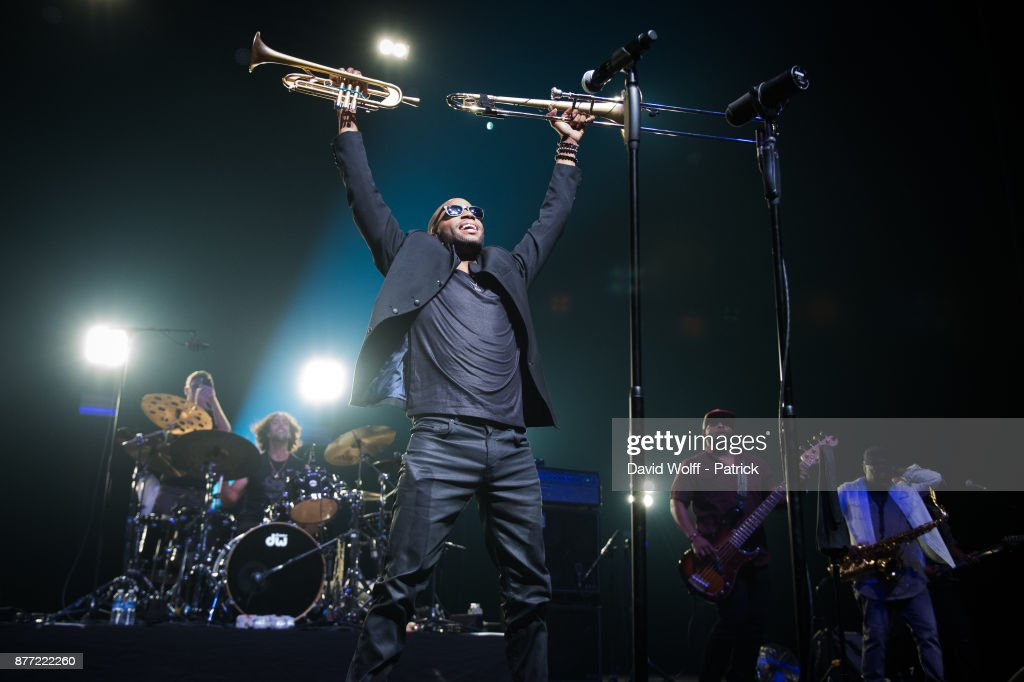Trombone Shorty Performs At L'Olympia  In Paris