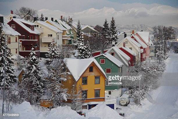 Tromso (Norway): winter postcard
