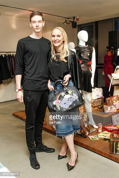 Tronje van Ellen and Anne MeyerMinnemann attend the Petra Teufel GALA Fashion Night on May 20 2015 in Hamburg Germany