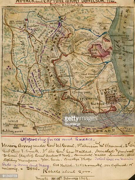 Fort Donelson Stock Photos And Pictures Getty Images - Ft donelson river on us map