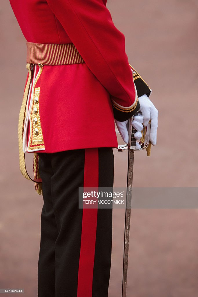 Trooping the Colour, Horse Guards Parade, London : Stock Photo
