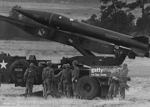 MAY 6 1966 MAY 13 1967 MAY 14 1967 Troops of 6th battalion await word to fire the honest John Rocket which has a maximum range of 23 miles