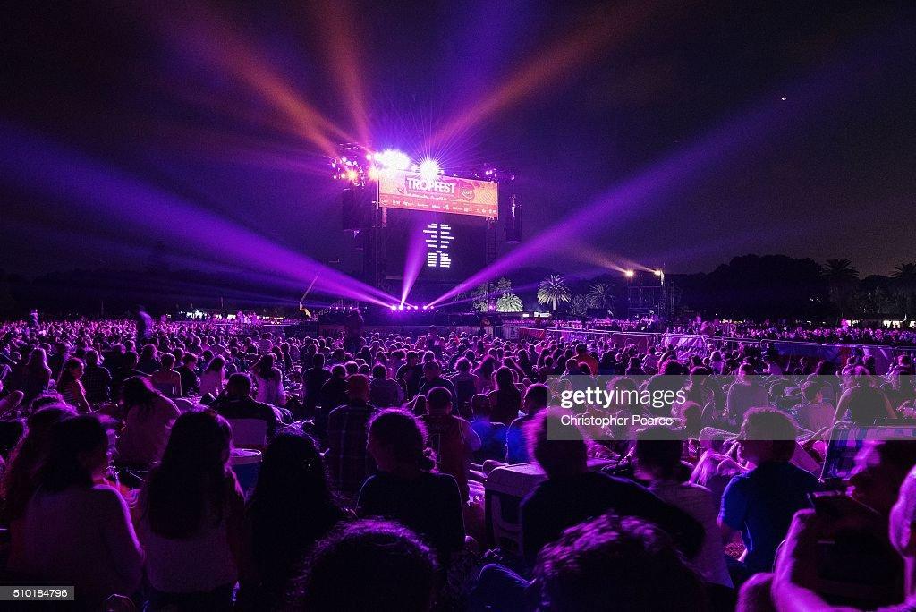 Tropfest at Centennial Park on February 14, 2016 in Sydney, Australia.
