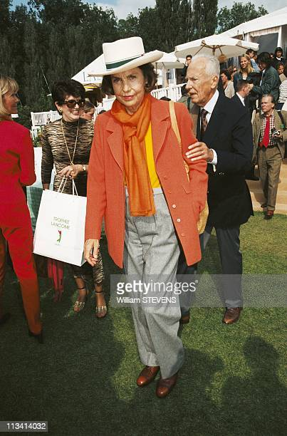 Trophee Lancome On January 1St 1998 In ParisFrance
