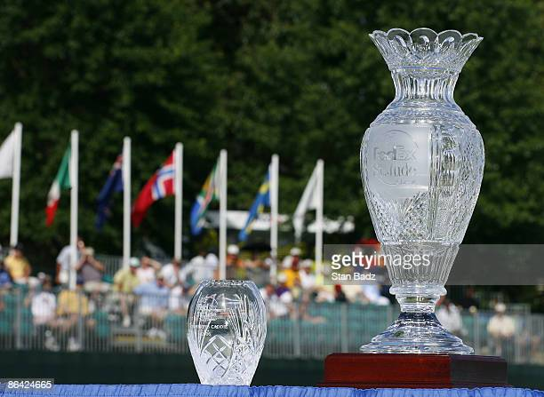 Trophy ceremony after the fourth and final round of the FedEx St Jude Classic held at TPC Southwind in Memphis TN on May 28 2006