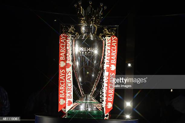 Trophy during the Barclays Premier League Live event on March 28 in Johannesburg South Africa