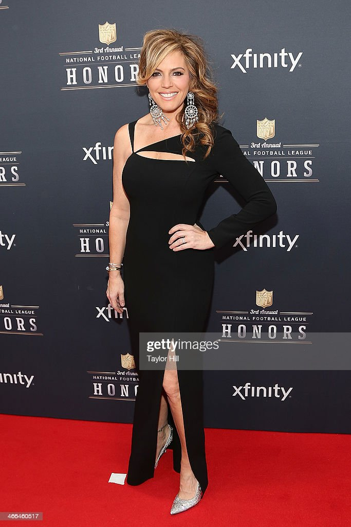 Trophy presenter Sandra Taylor attends the 3rd Annual NFL Honors at Radio City Music Hall on February 1, 2014 in New York City.