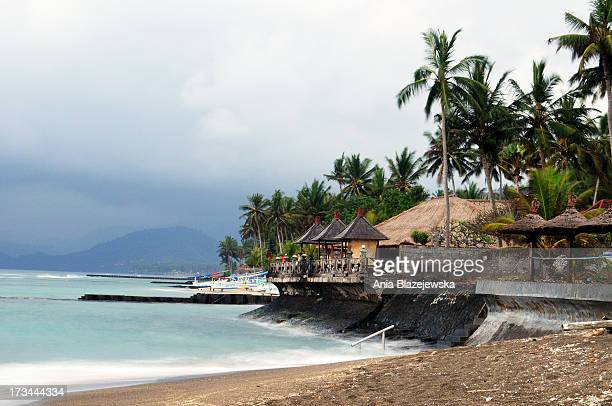 Tropical Balinese beach in Candid