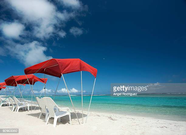 Tropical Beach and awning