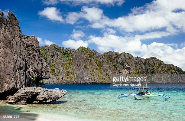 Tropical beach in El Nido, Palawan