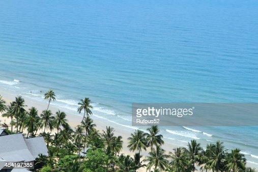 Praia Tropical de Koh Chang, Tailândia : Foto de stock