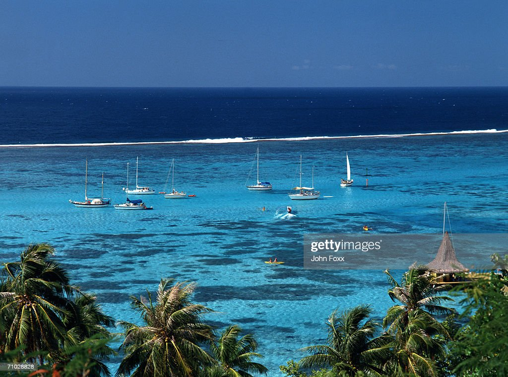 tropical coast, Hawaii : Stock Photo
