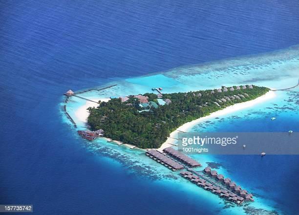 Isola tropicale alle Maldive