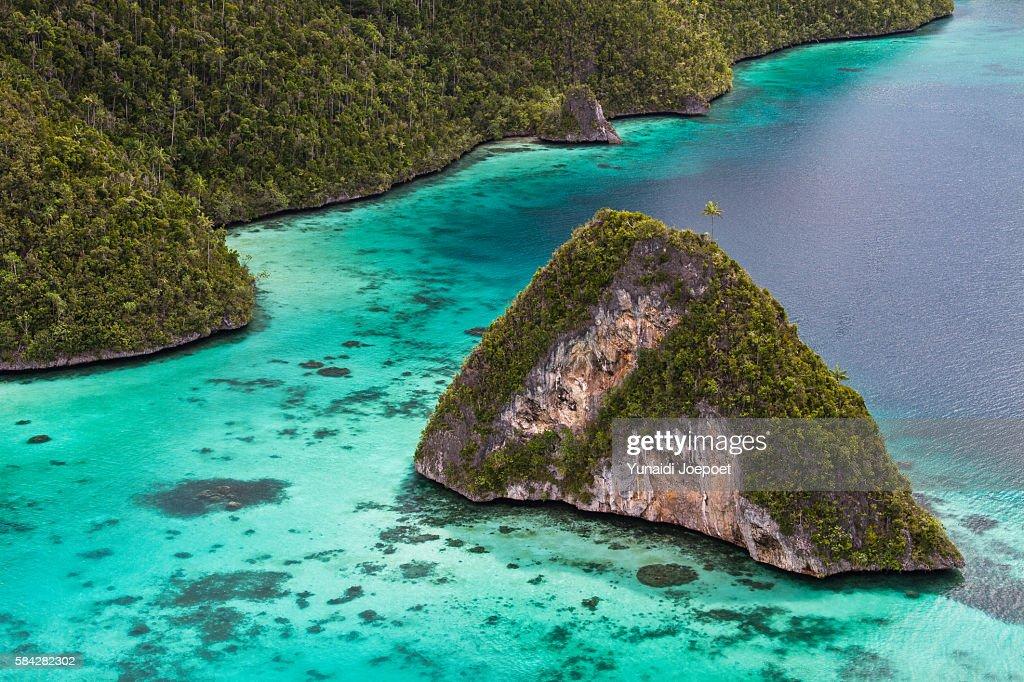 Tropical Island in Raja Ampat