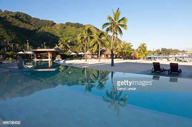 Tropical resort, Moorea, Tahiti