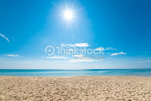 tropical sea in summer. : Stock Photo