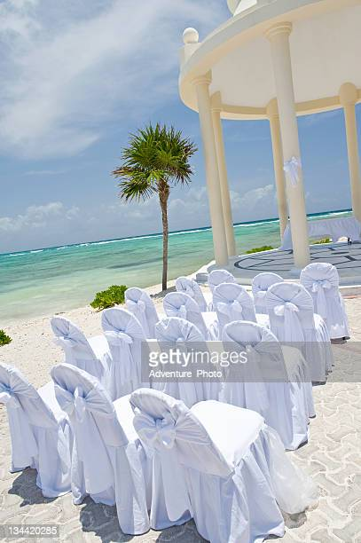 Tropical Seaside Wedding Ceremony