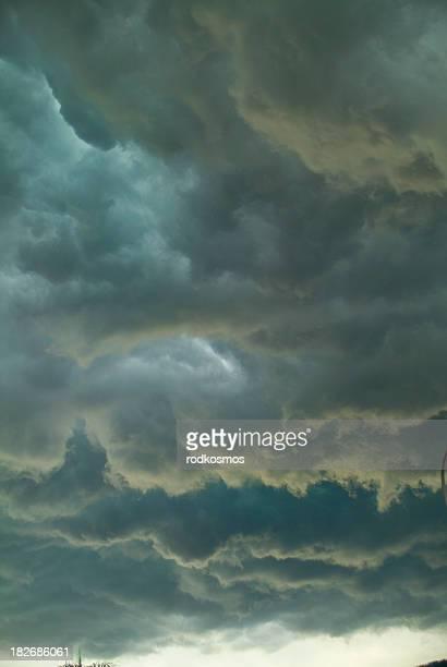 tropical  storm clods