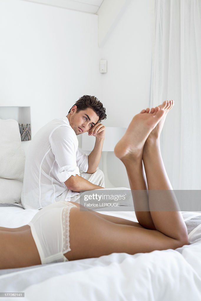 Troubled couple : Stock Photo