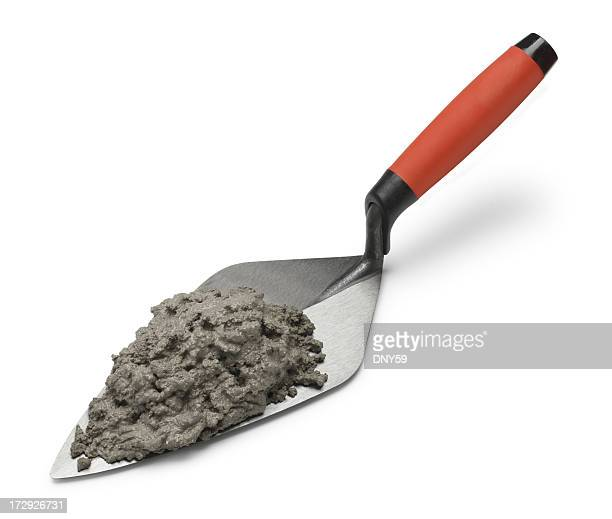 Thin Set Trowel : Cement stock photos and pictures getty images