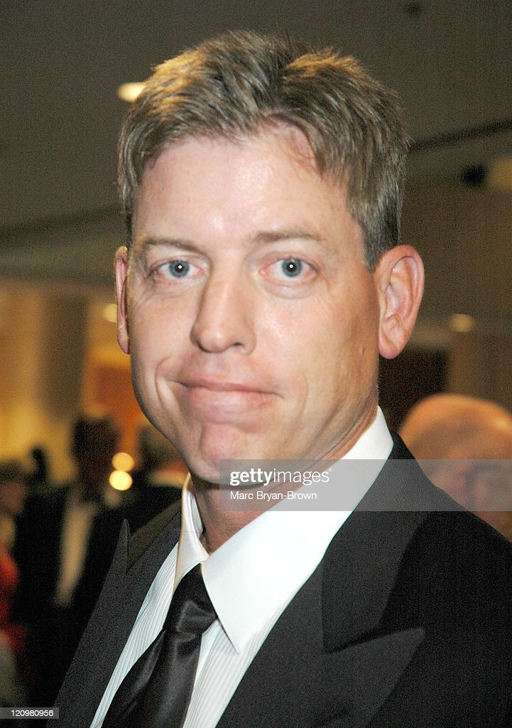 <a gi-track='captionPersonalityLinkClicked' href=/galleries/search?phrase=Troy+Aikman&family=editorial&specificpeople=206871 ng-click='$event.stopPropagation()'>Troy Aikman</a> during 25th Annual Sports Emmys at Marriott Marquis, New York City in New York City, New York, United States.