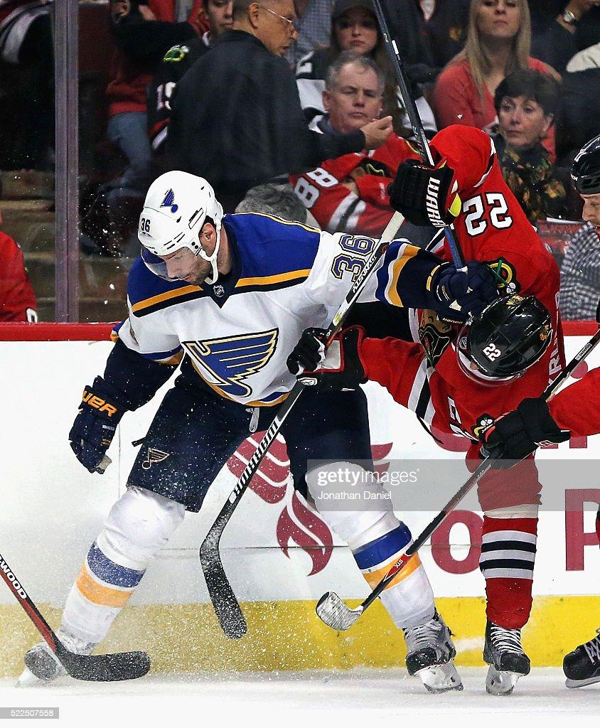 St Louis Blues v Chicago Blackhawks - Game Four
