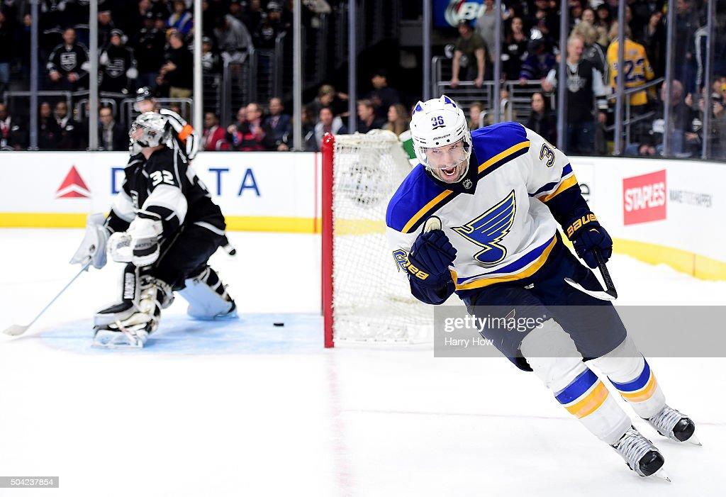 St Louis Blues v Los Angeles Kings