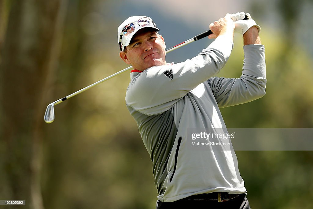 Troy Matteson of the United States hits off the 6th tee during the first round of the Colombia Championship presented by Claro at the Country Club de...
