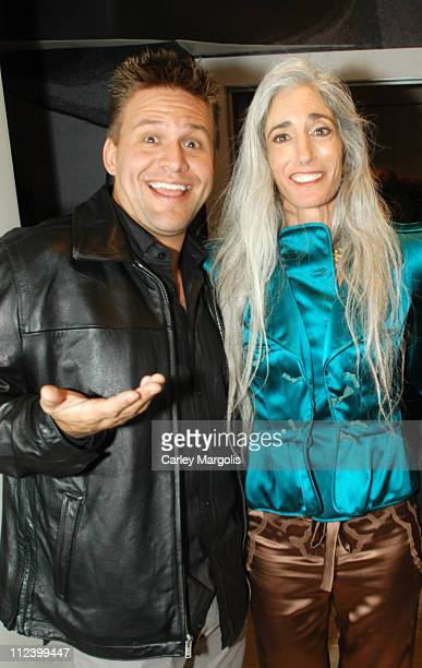 Troy McClain of 'The Apprentice' with Yamuna Zake during Grand Opening of Yamuna Studio at Yamuna Studio in New York City New York United States