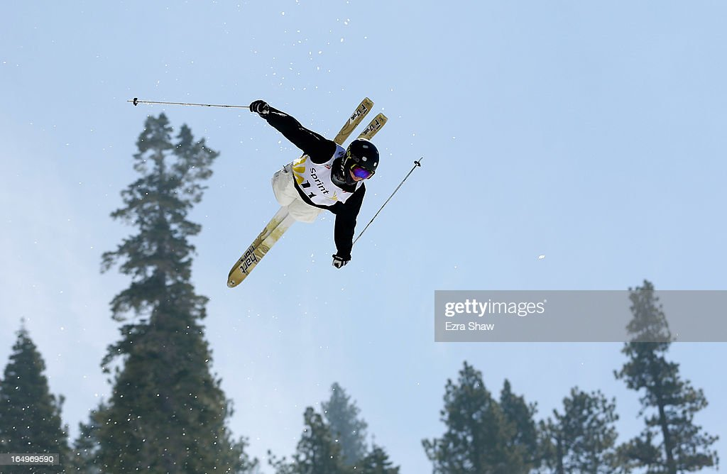 Troy Murphy competes in the Men's Moguls at the U.S. Freestyle Moguls National Championship at Heavenly Resort on March 29, 2013 in South Lake Tahoe, California.