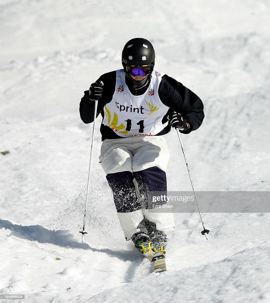 Troy Murphy competes in the Men's Moguls final at the U.S. Freestyle Moguls National Championship at Heavenly Resort on March 29, 2013 in South Lake Tahoe, California.