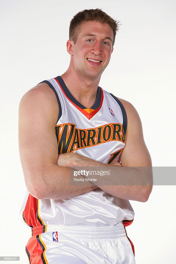 Troy Murphy #1 of the Golden State Warriors poses for a portrait during the Warriors Media Day on October 3, 2005 at the Warriors practice facility in Oakland, California.