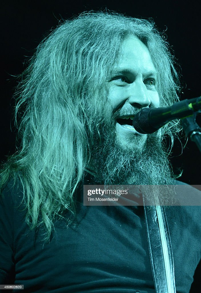 <a gi-track='captionPersonalityLinkClicked' href=/galleries/search?phrase=Troy+Sanders&family=editorial&specificpeople=828894 ng-click='$event.stopPropagation()'>Troy Sanders</a> of Mastadon performs during the 2014 Bonnaroo Music & Arts Festival on June 13, 2014 in Manchester, Tennessee.