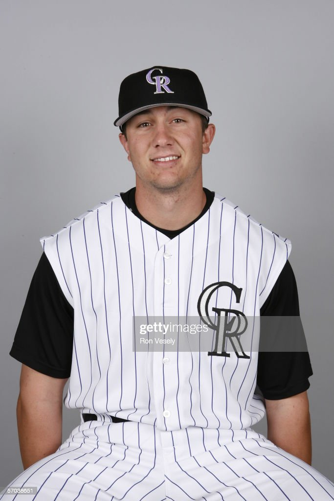 Troy Tulowitzki of the Colorado Rockies during photo day at Hi Corbett Field on February 25, 2006 in Tucson, Arizona.