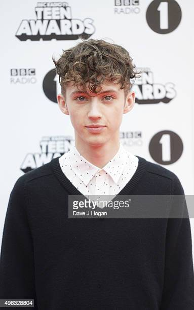 Troye Sivan attends the BBC Radio 1 Teen Awards at Wembley Arena on November 8 2015 in London England