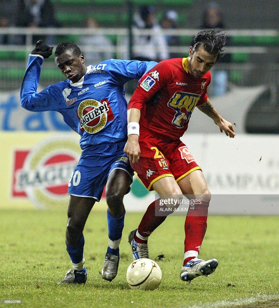 Troyes midfielder Blaise Matuidi L fi