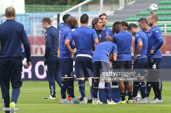 Estac troyes v as saint etienne ligue 1 photos and for Match estac