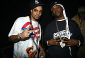 Tru Life and Memphis Bleek during Pitbull and Nore Reggaeton Concert at Nokia Theater in New York May 21 2006 at Nokia Theater in New York City New...