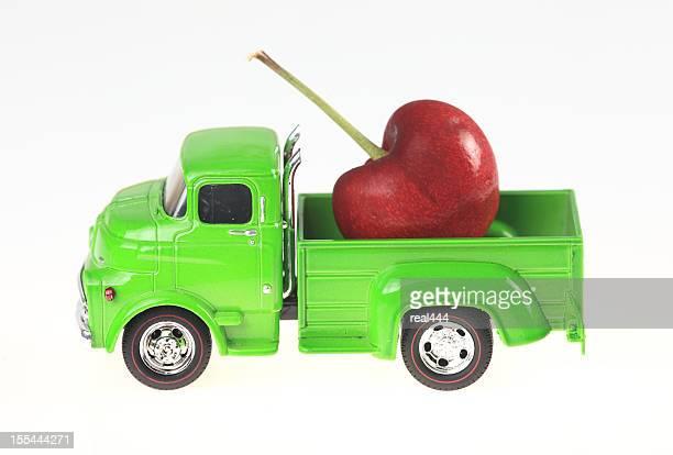 Truck and Cherries