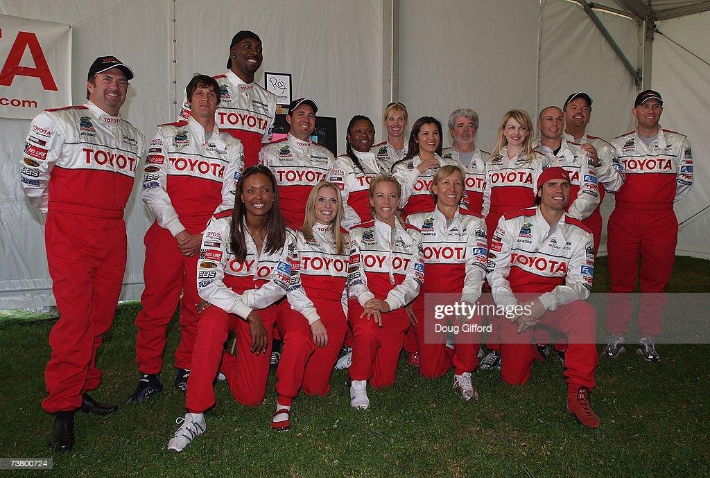 NASCAR Truck champion Mike Skinner XGame Champion Bucky Lasek Former NBA star John Salley NHRA champion Scott Kelley media personality Robin Quivers...