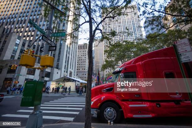 Truck in New York