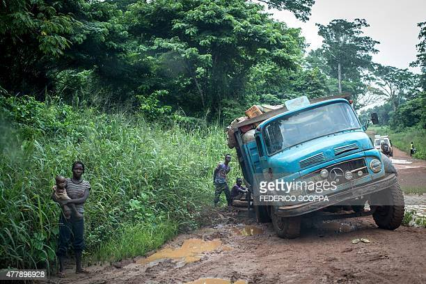 Truck Stuck In Mud Stock Photos And Pictures Getty Images