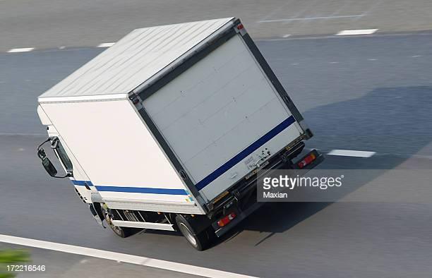 Camion sull'autostrada