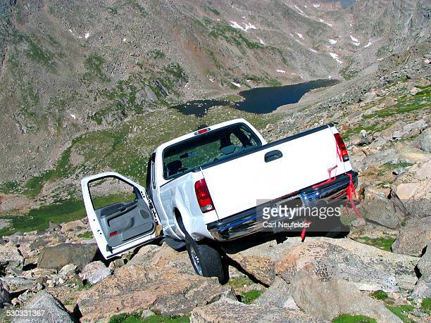 Truck on the Rocks