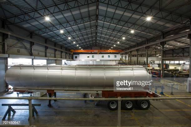 Truck tanks in truck maufacture